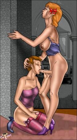 Hot futanari fuck sexy futanari (shemale cartoons) - Tranny Cartoon Tranny Comics Tranny on Tranny